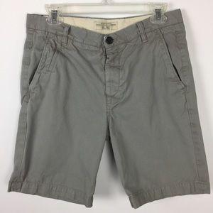 All Saints Mens Mitre Deck Shorts Sz 30 Cotton